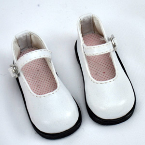 parabox online shop doll shoes 1 3 scale strap shoes white. Black Bedroom Furniture Sets. Home Design Ideas